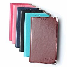 S-flip Leather Wallet Case Cover for Samsung Galaxy S2 LTE Skyrocket i727 E110