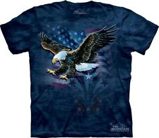 Declaration Eagle Flag Authentic The Mountain Adult T-Shirt