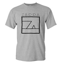 Frank Zappa T Shirt - White tee with Ship Arriving too Late print