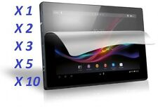 Crystal Clear LCD Screen Protector Film Cover For Sony Xperia Tablet Z [LOT]