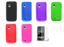LCD + Soft Silicone Cover Case for Samsung Galaxy S Showcase SCH-S950C Phone