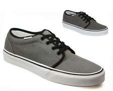 SALE Vans 106 VULCANIZED Pewter Black Canvas Trainers UK 2.5 - 4