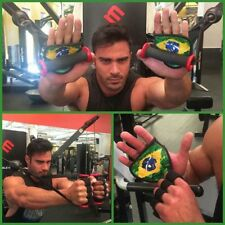 Gym Glove Alternative | GymPaws Leather Workout Grips | Weightlifting Gloves
