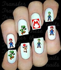 Stickers pour ongles Mario Kart / body art manucure nails