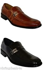 Delli Aldo Italian Style Men Shoes with Buckle.Brown and Black Color.