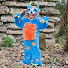 Halloween Friendly Blue Monster fancy dress BNWT 1-5yrs Boys Deluxe DLX Costume