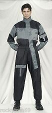 1-Pc Motorcycle Rain Suit Gear Folds Up in Very Small Pack - Sizes S to 4XL