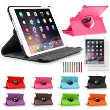 360 Rotating Leather Smart Case Sleep Wake for Apple iPad Air 2 / Mini 1 2 3