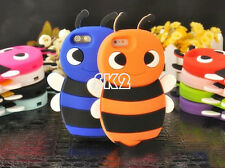 3D Cartoon Bee Soft Silicone Case Cover Skin Shell for Apple iPhone 5 5G
