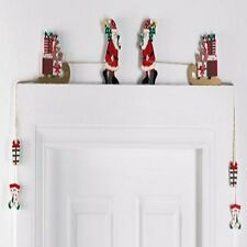 "NEW~CHRISTMAS ""OVERDOOR"" DECORATION~SANTA, REINDEER, PENGUINS ETC."