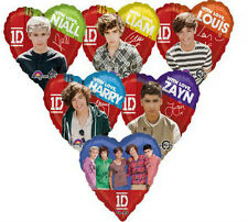 ONE DIRECTION Official Foil Balloons - 6 To Choose From - Autographed Balloons