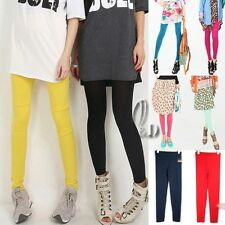 AU SELLER SOFT COTTON STRETCH TIGHTS SLIM PANTS MULTI-COLOUR P003