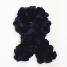 2013fashion Premium quality Women's Fur Scarves 100% Fur Ball Rabbit Woman scarf