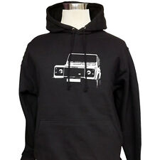 Land Rover Defender - Customised Hoodie Top Hooded Sweatshirt