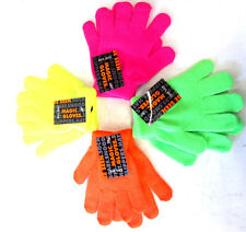 KIDS MAGIC GLOVES IN FOUR TYPES NEON COLOURS GL102A