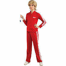 Adult Glee Coach Sue Sylvester Complete Costume Track Suit Wig NEW