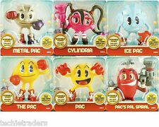 Pac-Man Posable Figures from Pac-Man and the Ghostly Adventures *Factory Sealed*