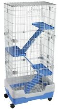 Ferret Chinchilla Rat Three Storey Indoor Mammal Cage NEW F13 Style Cage