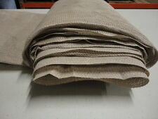 Sun screen Shade Fabric Saddle Tan 6' x Multiple Lengths FREE SHIPPING