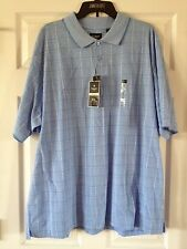 NWT $42 Men's Haggar Work To Weekend Easy Care Cotton Blend Golf Polo Shirts
