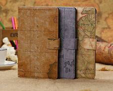 Map Design Pu Leather Case Cover Shell for Google Nexus 7 2nd Gen Tablet