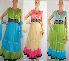 Long Anarkali Asian Suit Traditional Bridal Dress for Wedding Party Bollywood