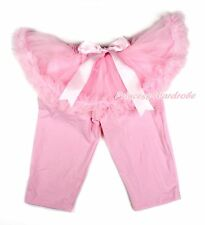 Light Pink Tutu Pink Legging Pink Bow Dress Pettiskirt Skirt Pants Tight 1-7Y