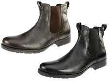 Red Tape Mens Black or Brown Real Leather Red Lake chelsea dealer boots UK 7-12