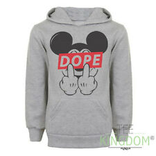 NEW MICKEY DOPE FINGER MOUSE HOODIE SWEATER DIS OBEY FUTURE SWEATSHIRT ODD HANDS