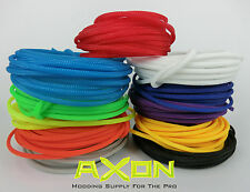 "Cable Sleeving 3mm (1/8"") - 11 Colours - Round High Density -   PC Modding"