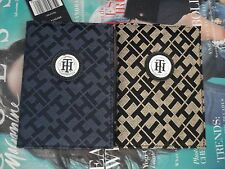 AUTHENTIC NWT TOMMY HILFIGER BLUE/ BLACK CLASSY PASSPORT HOLDER** VERY RARE**
