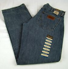 Mens Wrangler Retro Slim Boot Cut Premium Patch 77MWZRN Jeans Size 35 Any Length