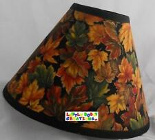 Autumn Leaves Fall Thanksgiving Lamp Shade (All Handmade After Order is Placed)