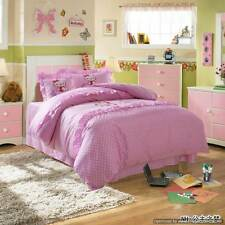 Hello Kitty Twin Queen Duvet Covers Comforter Sets 5Pc Pink Bed Linens Bed Sets