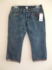 New Women's Joie Cropped Jeans (Sizes 26, 27, 28, 30, 31) Medium Wash Denim NWT