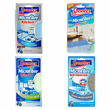 Spontex: Microfibre Window Cloth, Kitchen Cuisine, Anti-Limescale
