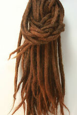 10 X human hair dreadlock extension - 10 dreads per order
