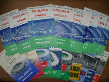 1960-65 - England Home Programmes
