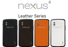 Slickwraps Nexus 4 Leather Series in 5 Different Colors
