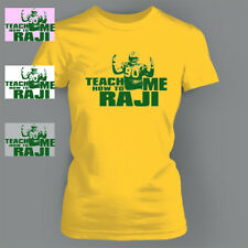 Teach Me How to BJ Raji Funny GREEN BAY PACKERS Ladies T-Shirt