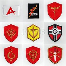 GUNDAM Military Tactical Morale Embroidery Velcro Patch Badges Series 4
