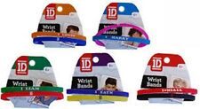 OFFICIAL ONE DIRECTION SET OF 2 WRIST BANDS FOR 1D FANS !!!!
