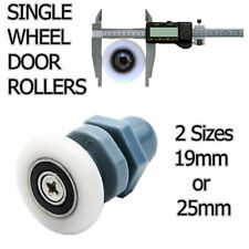 SINGLE WHEEL SHOWER DOOR CUBICLE ENCLOSURE 19mm or 25mm SIZES AVAILABLE