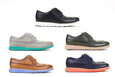Cole Haan LunarGrand Long Wingtip Sz 8-12 Multiple Colors