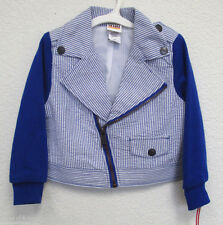 Harajuku Mini Blue Blazer (Blue & White)  New & Authentic Toddler