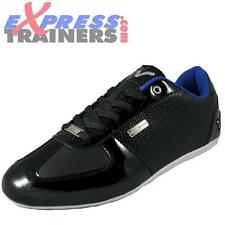 Voi Jeans Mens Murano Designer Trainers (Blk) * AUTHENTIC *