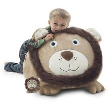 New Kid's Bean Bag Animal Chairs Game Movie Lounger with Stuffed Lil Buddy