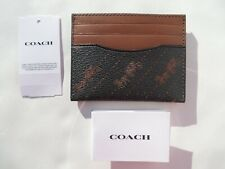 COACH Wristlet Leather Wallet Small coin Purse Bag New Signature 26291 23620 NWT