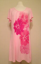 NEW Style & co Spring Bloom Stretch Sleepshirt Gown 53111 Pink    - Choose Sz
