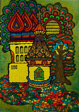 """Needlepoint canvas """"Gingerbread house"""""""